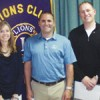 District Governors Install Three Members to Bath Lions