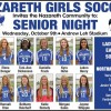Nazareth Soccer Senior Night 10/9