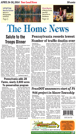 The Home News Cover