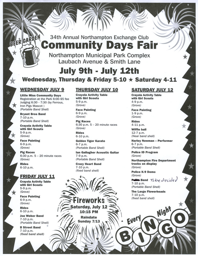 Community Days ad